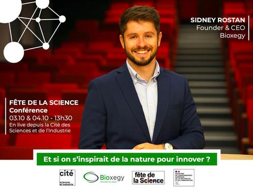 Le biomimétisme et Bioxegy à la Cité des Sciences et de l'Industrie !