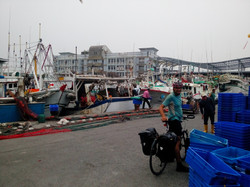 Small fisherman village in Southern Taiwan