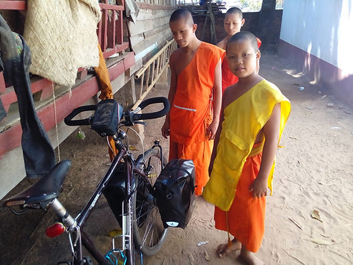 Cycle Touring Cambodia