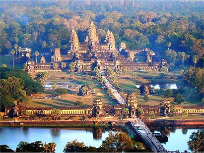 Angkor Wat cycling