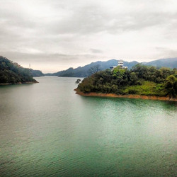 Lake in Taiwan's mountains