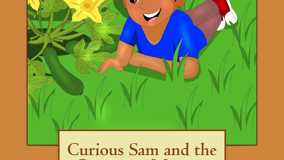 Curious Sam and the Courgette-Marrow