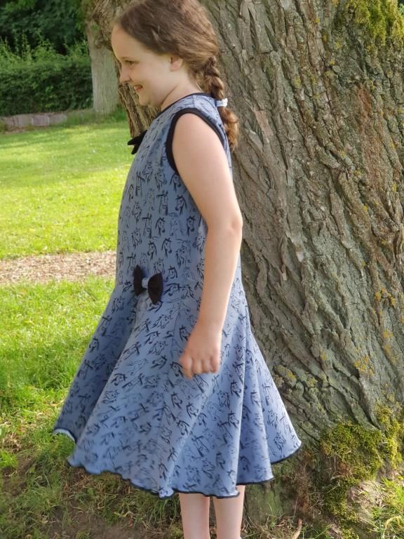 Nähanleitung für Jersey Sommerkleid Lisa