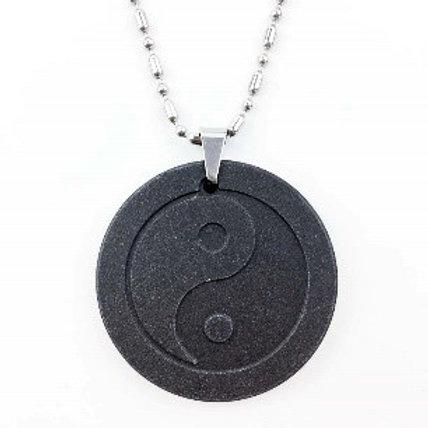 Tai Chi Quantum Energy Pendant with Silver Chain