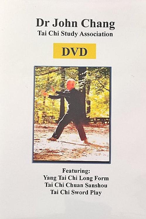 Dr John Chang - Yang Tai Chi Long Form (DVD or USB)