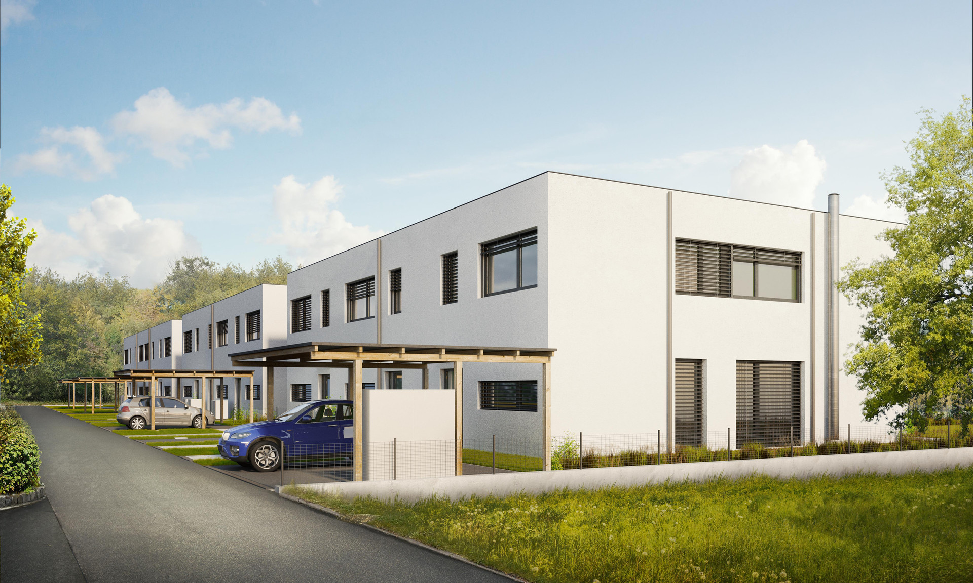 Residential house facility in Sittendorf