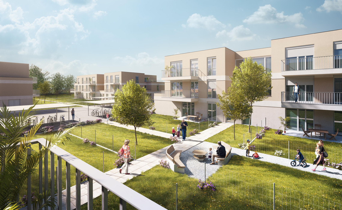 Competition for residential building in St. Pölten 1st place