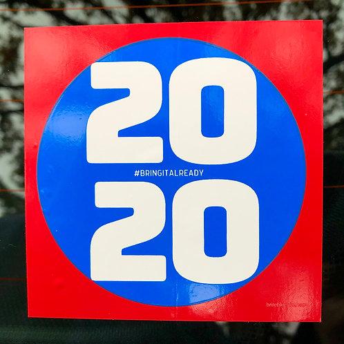 Blue Dot 2020 #BringItALREADY—3 Pack
