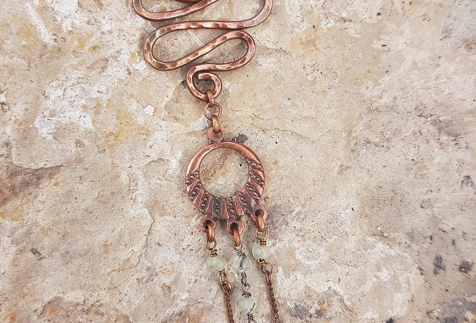 Prehnite Necklace