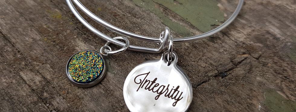 'Integrity' bangle
