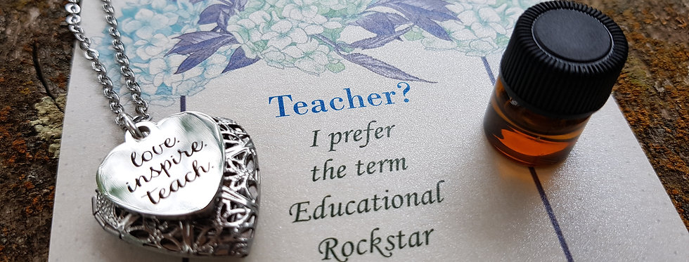 Teacher diffuser locket