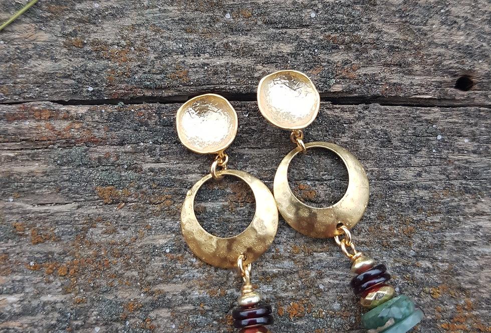 Thoth earrings