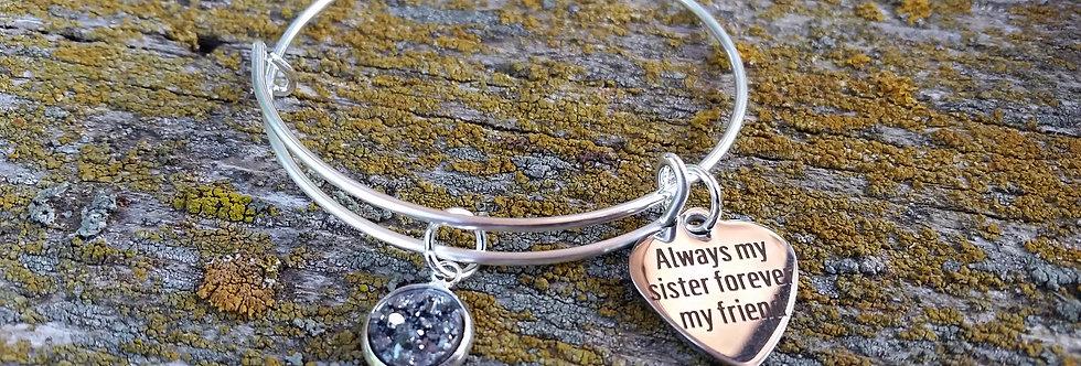 'Always my Sister' bangle