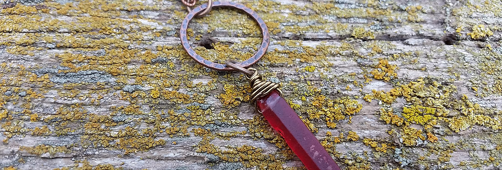 Red Quartz Necklace