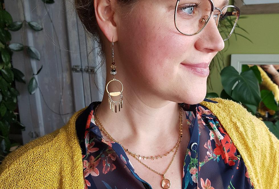 Solstice Gemstone Earrings
