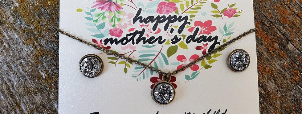 Mother's Day druzy set