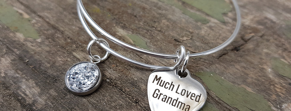'Much Loved Grandma' bangle