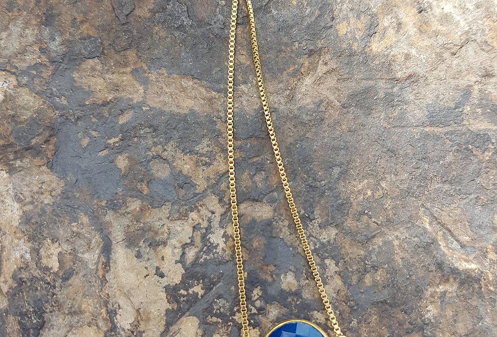 Sapphire Chalcedony Bracelet