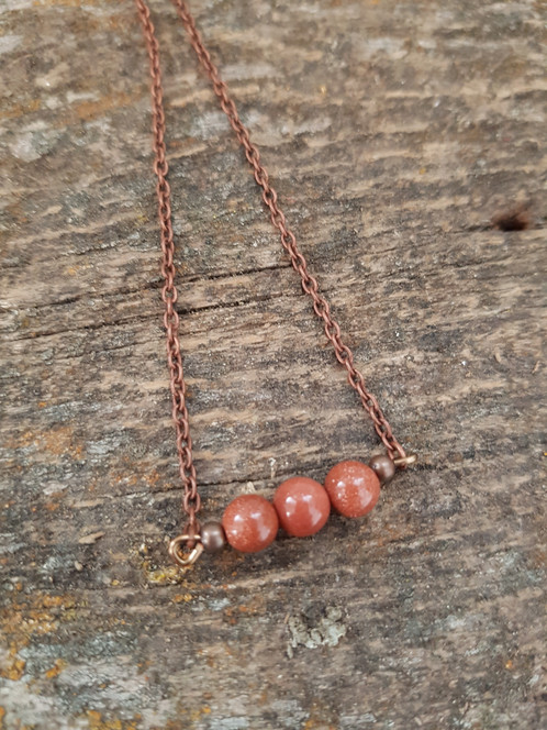 jewelry mama red shop bohemian goldstone coyote format necklace