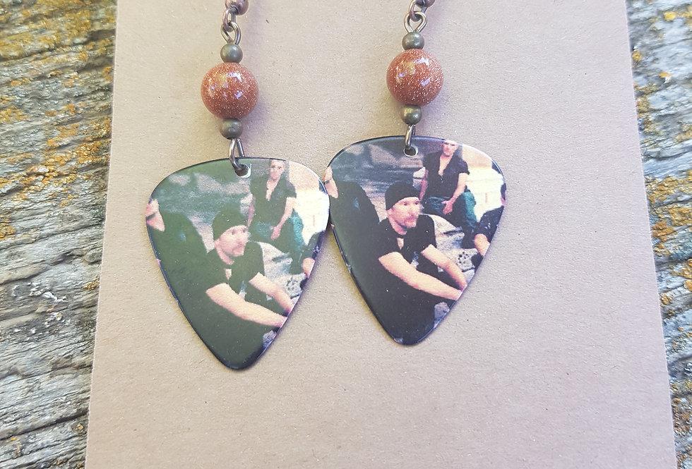 Pic earrings