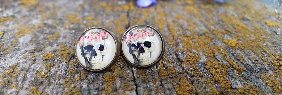 12mm skull studs