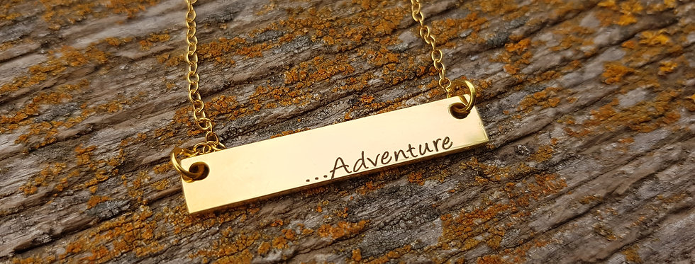 Adventure bar necklace