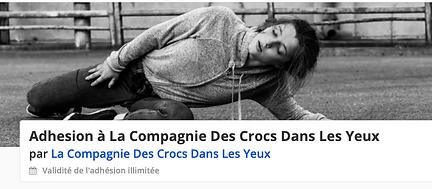 Cie des crocs dans les yeux / Acro - Danse /