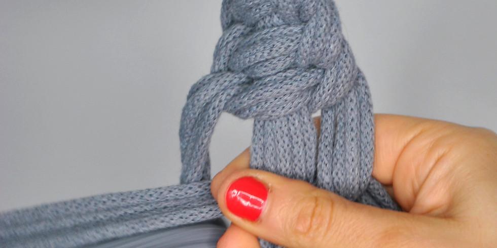 Online macrame workshop - Crown knot