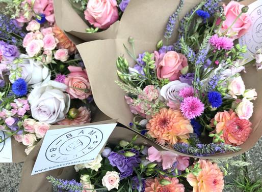 BAM flower bunches