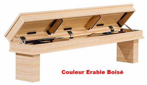 Coffre Banc Pour Table De Billard Amovible