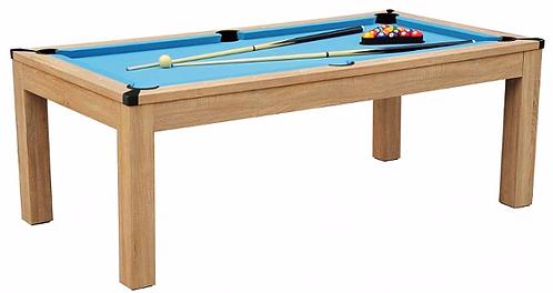 Billard Américain 6Ft Convertible en Table & Table de Ping-Pong