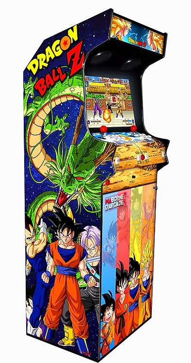Borne D'arcade Dragon Ball Z 600 Jeux