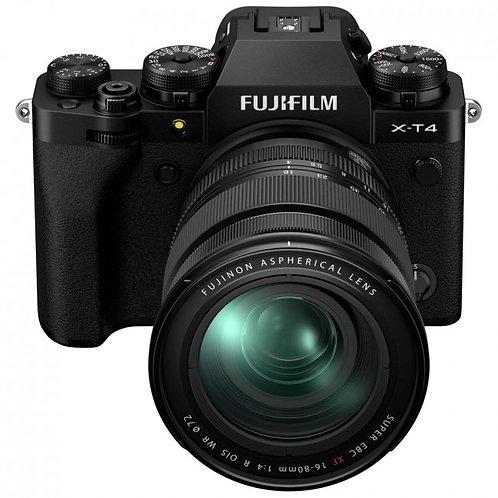 Fujifilm X-T4 + XF 16-80mm f/4 R OIS WR Noir