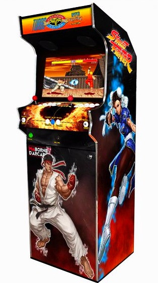 borne arcade street fighter 2