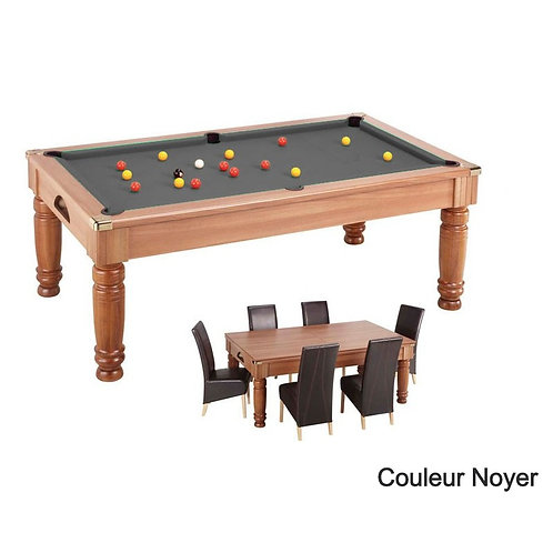 Pool anglais 7 ft convertible en table