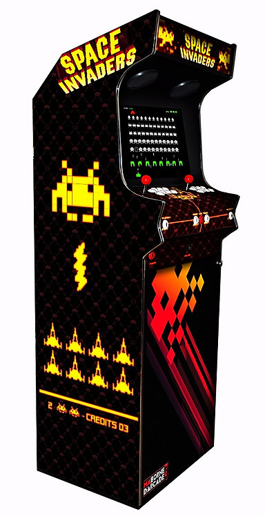 Borne D'arcade Space Invaders 6000 Jeux
