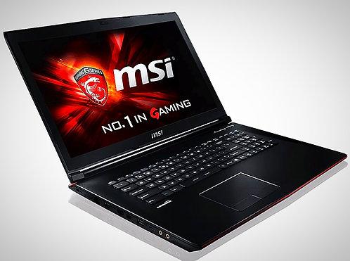 "Notebook MSI Leopard Pro 17"""