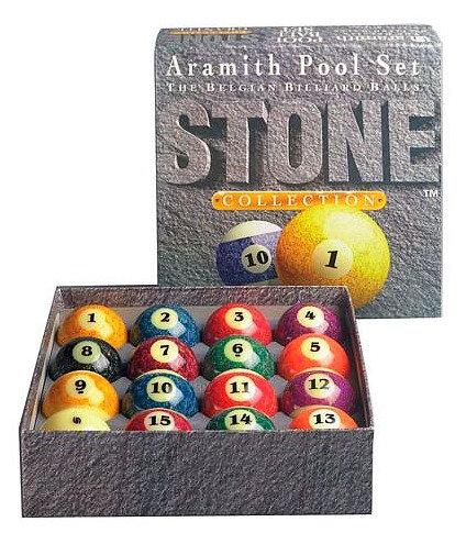 "Billes US Aramith ""Stone"" 57.2mm"