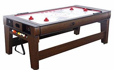 Table Réversible Air Hockey et Billard