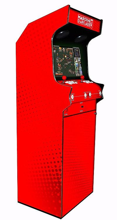 Borne D'arcade Red 600 jeux avec Monnayeur
