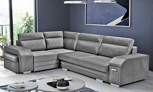 Canapé D'angle Avec Mini Bar