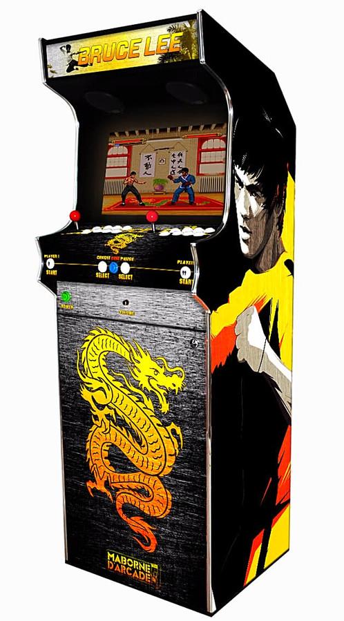 borne arcade 6000 jeux