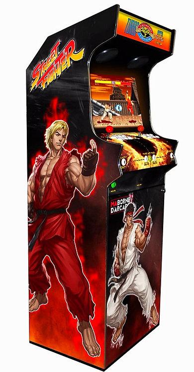 Borne D'arcade Street Fighter 600 jeux avec Monnayeur