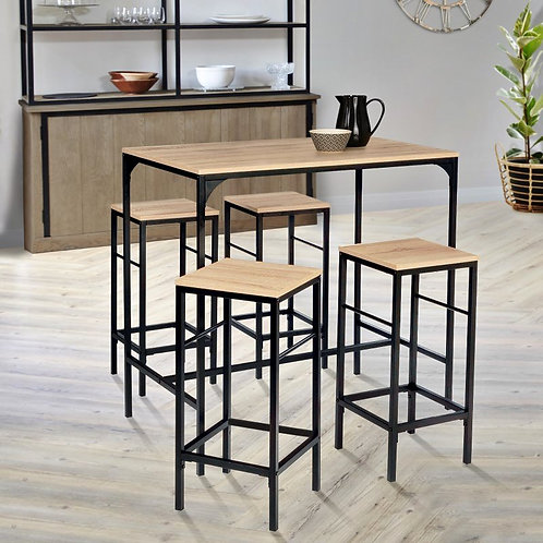 Table haute & Tabouret