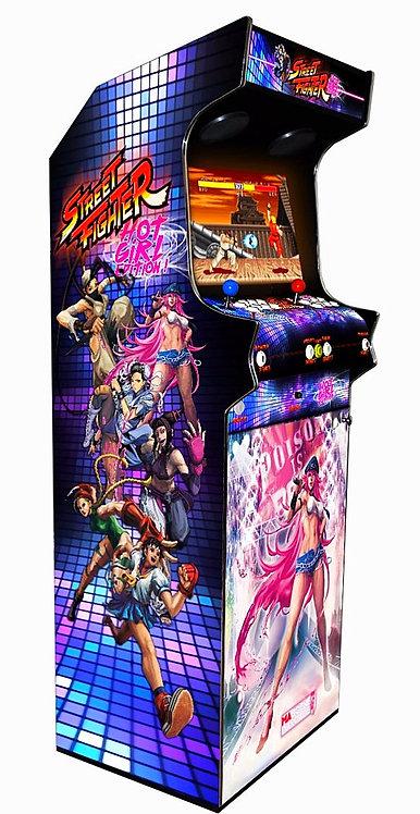 Borne D'arcade Street Fighter Girl 10000 Jeux