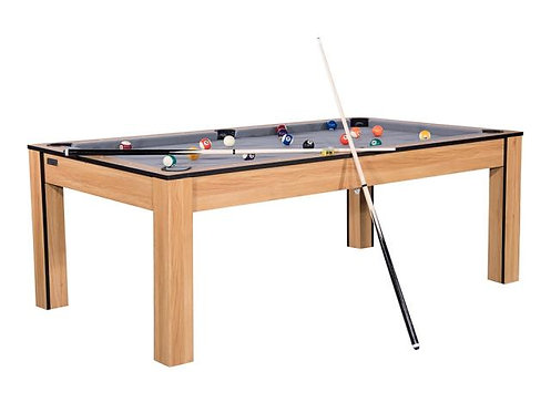 Billard Convertible en Table 7Ft Hêtre