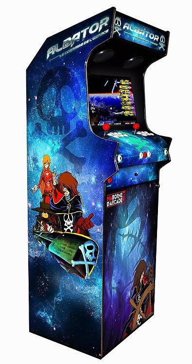 Borne D'arcade Albator 600 jeux avec Monnayeur