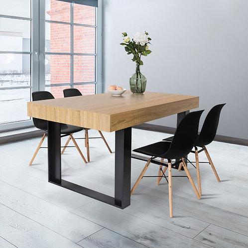Table 1m60 Bois et Métal