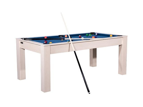 Billard Américain convertible en table Ft Hêtre
