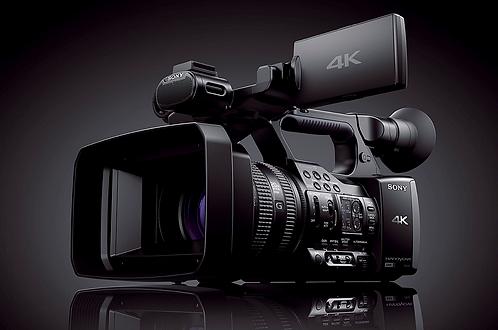 Camera Sony Camcordeur Pro 4K